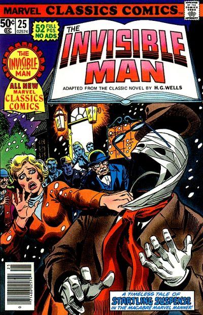 Marvel Classics Comics 25