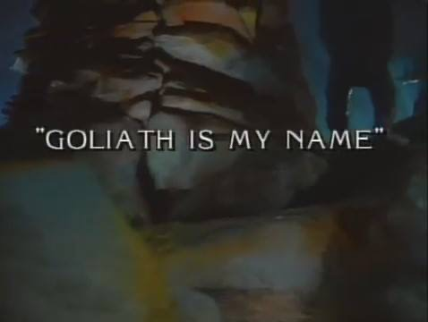 War of the Worlds: Goliath Is My Name