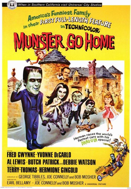 Munster, Go Home (1966)
