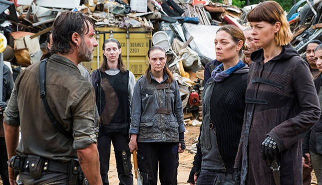 Walking Dead: The King, The Widow, and Rick