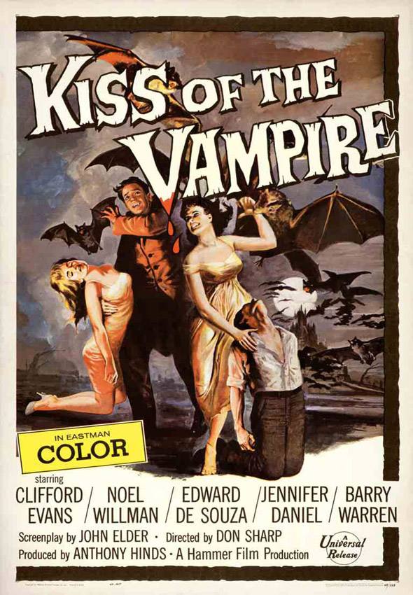 Kiss of the Vampire (1963)