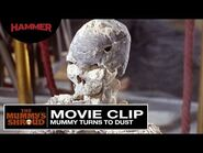 The Mummy's Shroud - Mummy Turns to Dust (Official Clip)