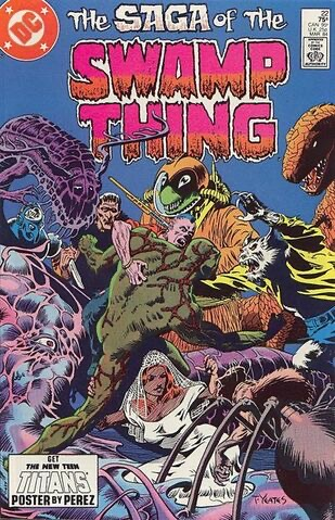 Swamp Thing Vol 2 22