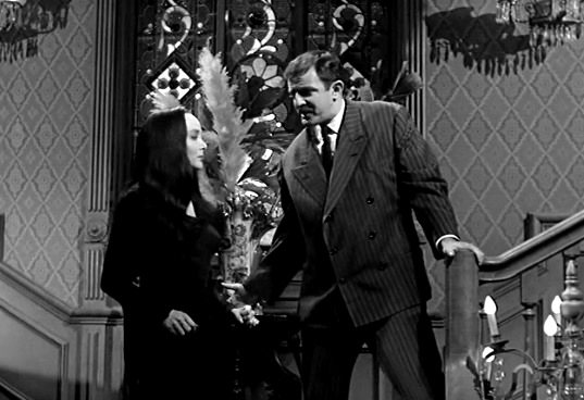 Addams Family: Morticia and the Psychiatrist