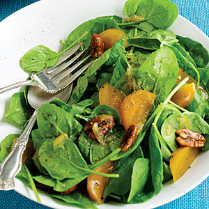 Spinach and persimmon salad.jpg