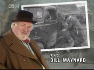 Bill Maynard as Claude Jeremiah Greengrass in the 1995 Opening Titles