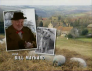Bill Maynard as Claude Jeremiah Greengrass in the 1997 Opening Titles
