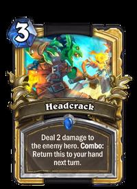 Golden Headcrack