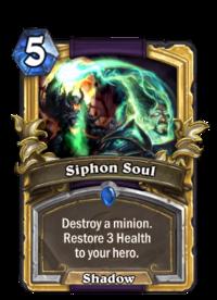 Golden Siphon Soul