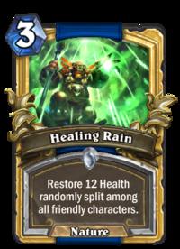 Golden Healing Rain