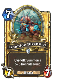 Ironhide Direhorn(90170) Gold.png