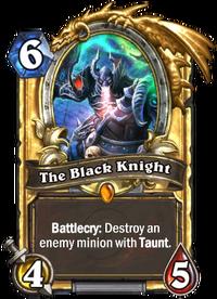 Golden The Black Knight