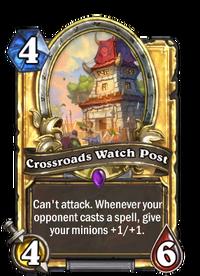 Golden Crossroads Watch Post