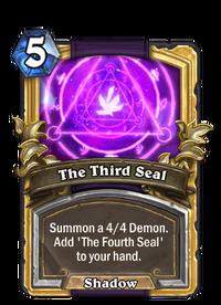 Golden The Third Seal