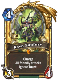 Golden Kayn Sunfury