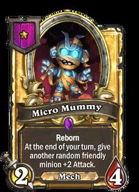 Golden Micro Mummy