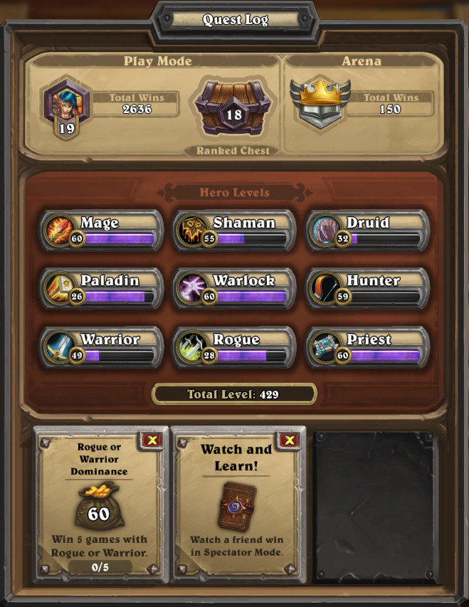 how to get golden pack hearthstone