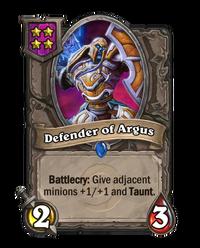 Regular Defender of Argus
