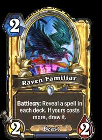 Raven Familiar(76885) Gold.png