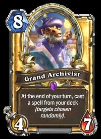 Grand Archivist Hearthstone Wiki
