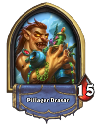 Golden Pillager Drasar