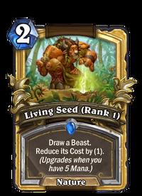 Golden Living Seed (Rank 1)