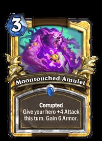 Golden Moontouched Amulet
