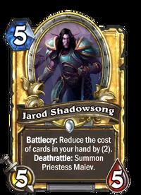 Golden Jarod Shadowsong