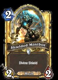 Golden Shielded Minibot