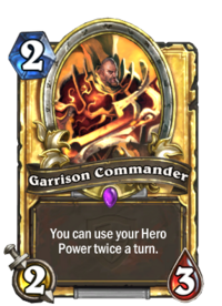 Golden Garrison Commander