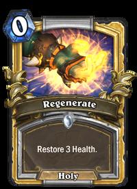 Golden Regenerate