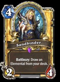Golden Sandbinder