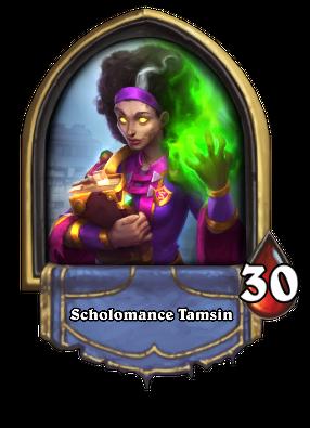 Scholomance Tamsin