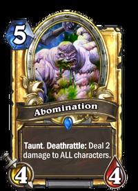 Golden Abomination