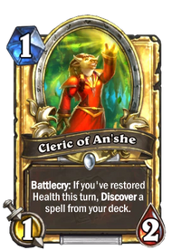 Golden Cleric of An'she