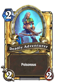 Golden Deadly Adventurer