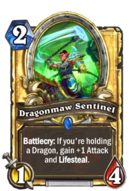 Golden Dragonmaw Sentinel