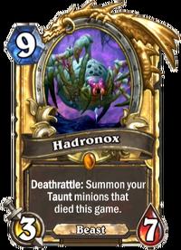 Golden Hadronox