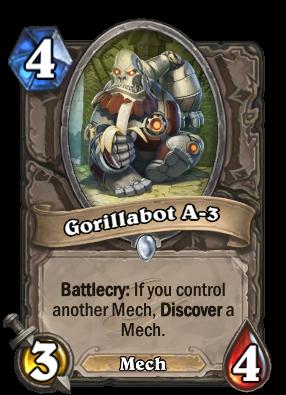 Gorillabot A 3 Hearthstone Wiki