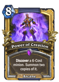 Golden Power of Creation