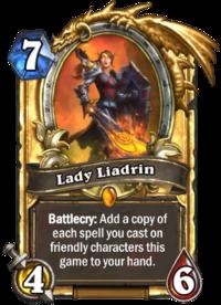 Golden Lady Liadrin