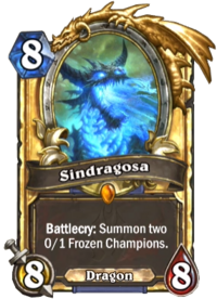 Golden Sindragosa