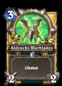 Golden Aldrachi Warblades