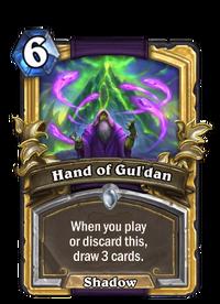 Golden Hand of Gul'dan