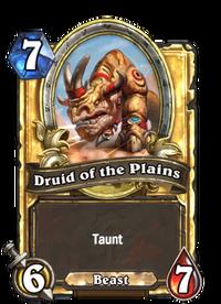 Golden Druid of the Plains