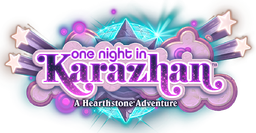 One Night in Karazhan logo.png