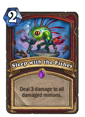 New hearthstone strategy relies on running out the clock for Sleeping with the fishes