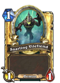 Snarling Vilefiend(330116) Gold.png