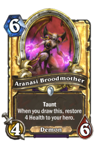 Aranasi Broodmother(90551) Gold.png