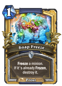 Golden Snap Freeze